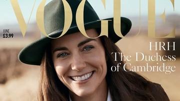 "01-05-2016 12:58 Księżna Kate na okładce brytyjskiego magazynu ""Vogue"". Specjalna sesja na stulecie pisma"