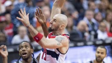 2015-11-05 NBA: Dziesięć punktów Gortata, Wizards pokonali Spurs