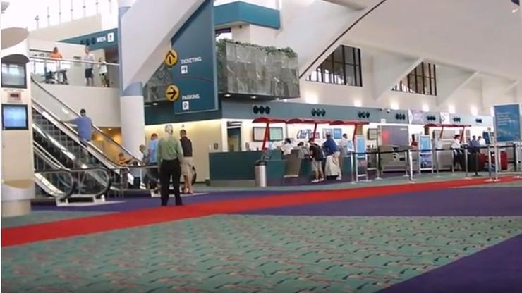 USA: mieszkaniec Kanady oskarżony o atak terrorystyczny na lotniskowego policjanta