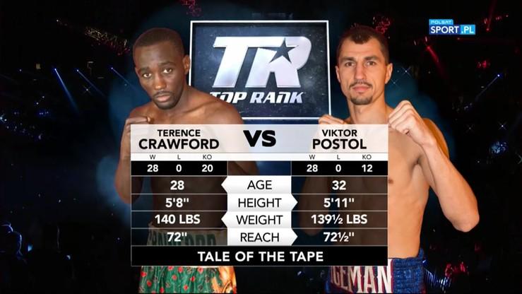 2016-07-24 Terence Crawford - Wiktor Postoł. Skrót walki