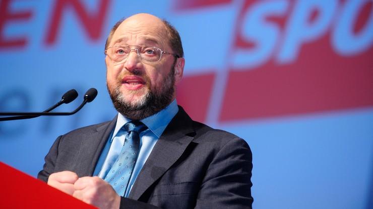Schulz zapowiada odejście z polityki europejskiej. Wróci do Niemiec