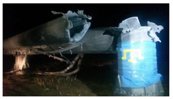 22-11-2015 04:52 Cały Krym bez prądu. Wysadzono maszty energetyczne