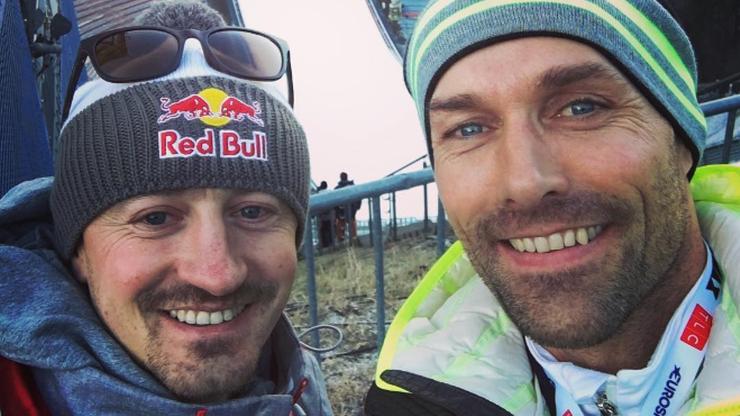 Wyjątkowe spotkanie dwóch legend w Innsbrucku! Małysz i Hannawald znowu razem