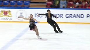 Junior Grand Prix: Młodzi łyżwiarze z całego świata rywalizują w Gdańsku