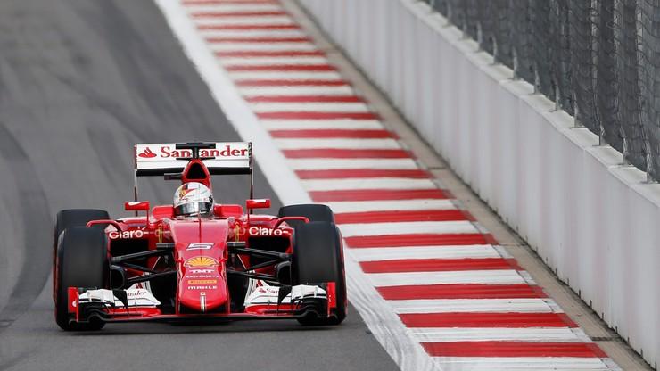 GP USA: Vettel cofnięty o dziesięć miejsc na starcie