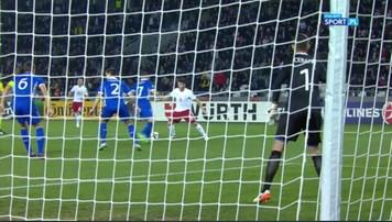 2016-11-12 El. MŚ 2018: Gruzja zremisowała z Mołdawią. Gol Kazaiszwilego