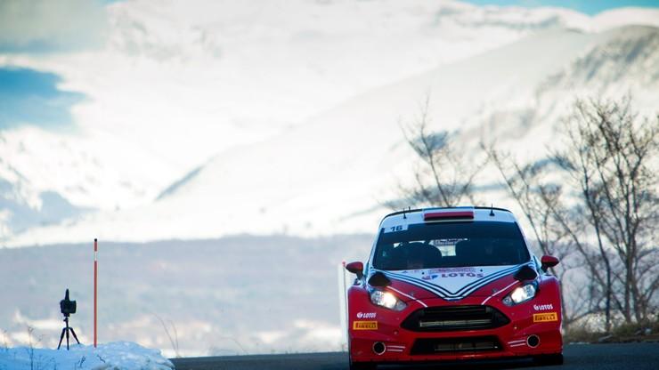 Kubica siódmy na odcinku testowym Rajdu Monte Carlo
