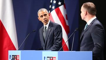 """08-07-2016 22:47 """"Obama zganił polski rząd"""". Echa słów prezydenta USA o demokracji w Polsce"""