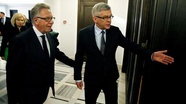 Marszałek Senatu po spotkaniu z Komisją Wenecką: TK powinien intensywnie działać