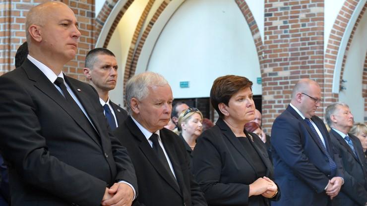 Premier i prezes PiS pożegnali zmarłego wojewodę zachodniopomorskiego