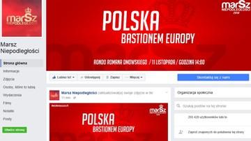 """02-11-2016 19:23 Facebook przywrócił konto narodowców. Profil """"Marsz Niepodległości"""" znów działa"""
