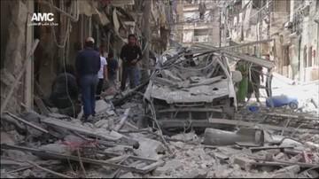 08-06-2016 13:42 15 cywilów zginęło w atakach sił reżimu na Aleppo