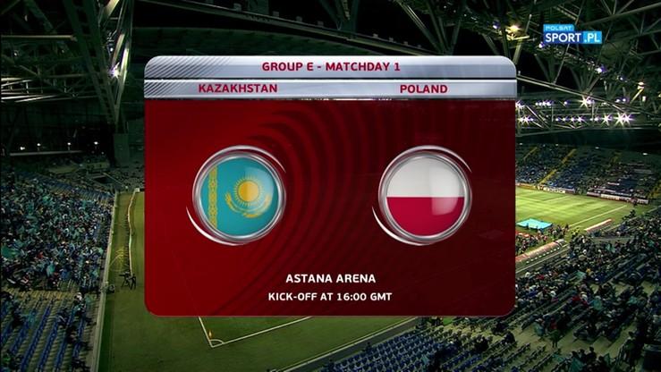 2016-09-04 Kazachstan - Polska 2:2. Skrót meczu
