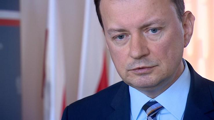 """Błaszczak był pytany o to, czy minister cyfryzacji straci swoje stanowisko. """"Wszystko jest teoretycznie możliwe"""""""
