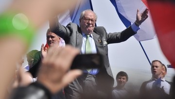 23-02-2016 16:31 Jean-Marie Le Pen grozi córce, że założy konkurencyjny ruch