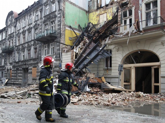 Wybuch gazu w Katowicach. Zawalił się budynek
