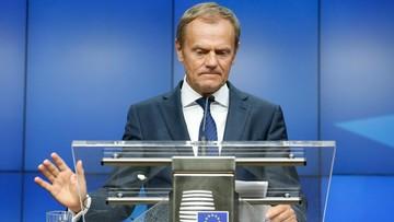 """29-06-2016 17:28 Tusk odrzuca oskarżenia Kaczyńskiego. """"To jedne z najdziwniejszych słów, jakie w polskiej polityce się pojawiły"""""""