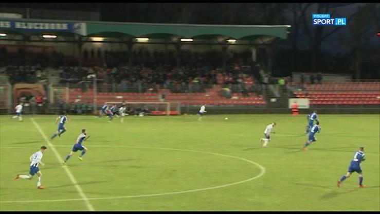 2017-03-20 MKS Kluczbork - Pogoń Siedlce 2:2. Skrót meczu