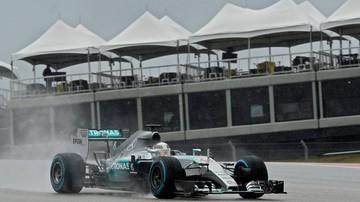 2015-10-24 GP USA: Trzeci trening dla Hamiltona, pogoda ciągle przeszkadza