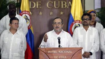 29-08-2016 05:39 Kolumbia: rebelianci ogłaszają definitywne przerwanie działań zbrojnych. Po 50 latach