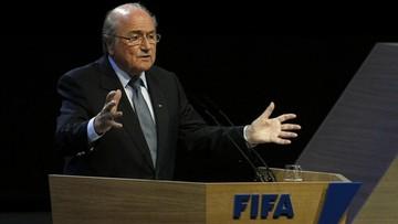 17-03-2016 20:38 Blatter zarobił w 2015 roku ponad 3 mln euro. FIFA ze stratą finansową