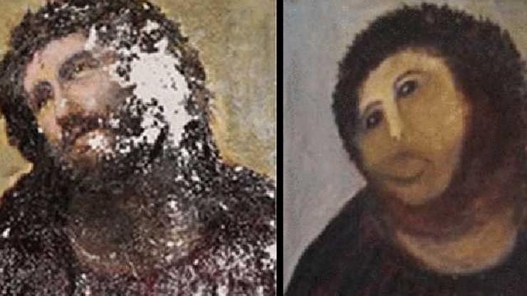 Hiszpania: powstało centrum poświęcone zniekształconemu freskowi