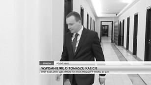 Wspomnienie o Tomaszu Kalicie - były rzecznik SLD zmarł na raka mózgu w wieku 37 lat