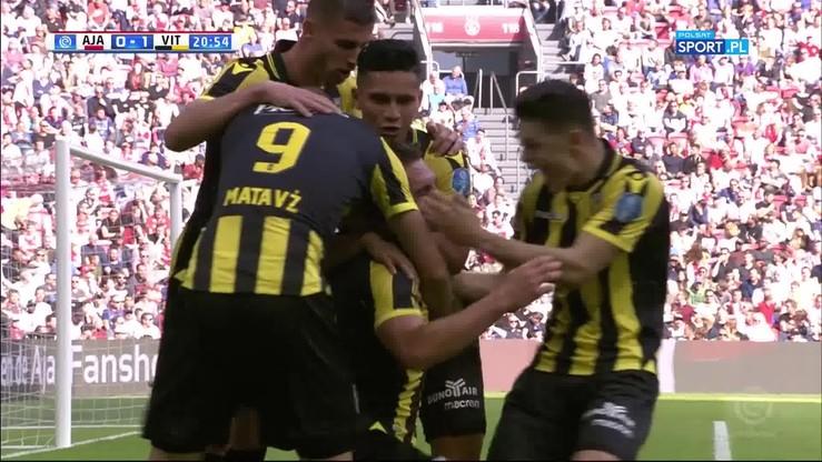 Ajax - Vitesse 1:2. Skrót meczu