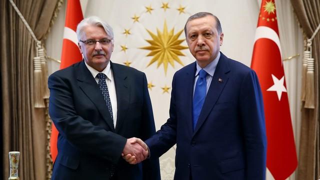 Waszczykowski spotkał się z Erdoganem