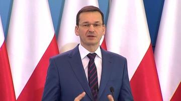 """""""Taką nadwyżkę po lipcu mamy pierwszy raz od 28 lat"""". Morawiecki o budżecie"""