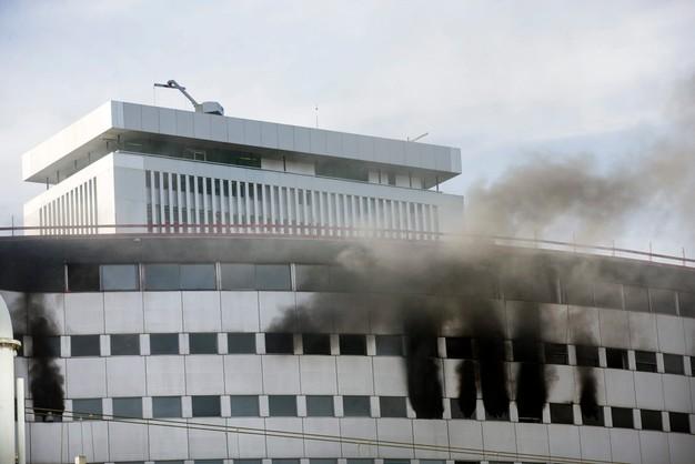 Paryż: Płonie budynek publicznego radia