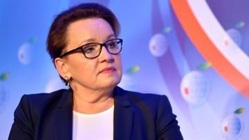 05-09-2017 22:46 Zalewska: niż demograficzny wpływa na liczbę etatów w szkołach