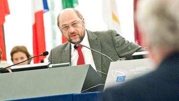 03-04-2016 16:43 Schulz krytykuje Erdogana: posunął się o krok za daleko