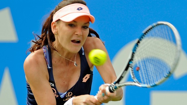 Turniej WTA w Eastbourne: Radwańska odpadła w ćwierćfinale