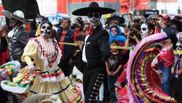 """2016-10-24 Parada Pani Śmierci"""" w Meksyku"""
