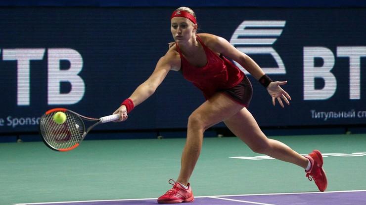 2017-10-18 WTA w Moskwie: Pogrom faworytek