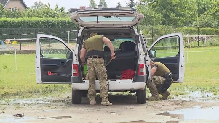 Zatrzymano mężczyznę, który mógł podłożyć bombę pod autem nauczycielki