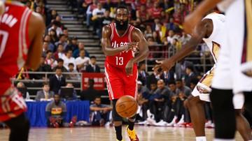 2016-11-18 NBA: James Harden z kolejnym triple-double
