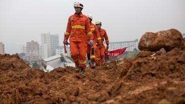 20-12-2015 16:45 Chiny: runęły 22 budynki. W gruzach uwięzionych jest 27 osób