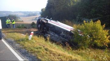 09-09-2016 08:00 Wypadek karetki na Lubelszczyźnie. Nie żyje pacjent