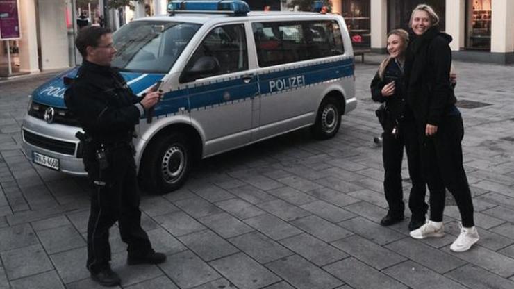 Policjanci zatrzymali Szarapową i... poprosili o wspólne zdjęcie