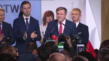 Janusz Piechociński po ogłoszeniu wyników