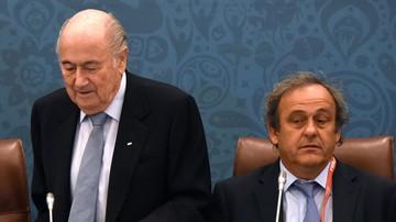 2015-10-28 Blatter: Wszystko przez Platiniego!
