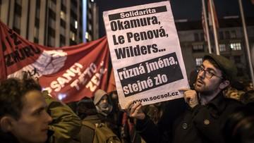 16-12-2017 13:20 W Pradze spotkanie partii antyimigracyjnych. Mobilizacja policji i tajnych agentów