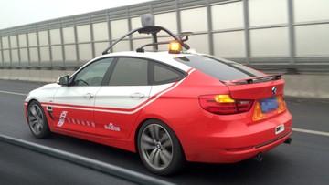 11-12-2015 15:58 Pierwsze testy chińskiego samochodu autonomicznego - bez kierowcy