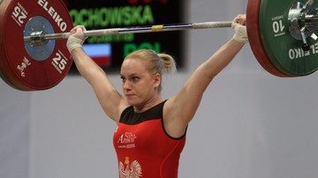 2017-04-03 Łochowska mistrzynią Europy w podnoszeniu ciężarów!