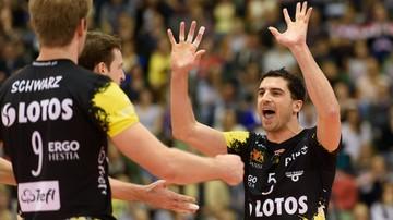 2015-12-03 Liga Mistrzów: Volley Ljubljana - Lotos Trefl Gdańsk. Transmisja w Polsacie Sport