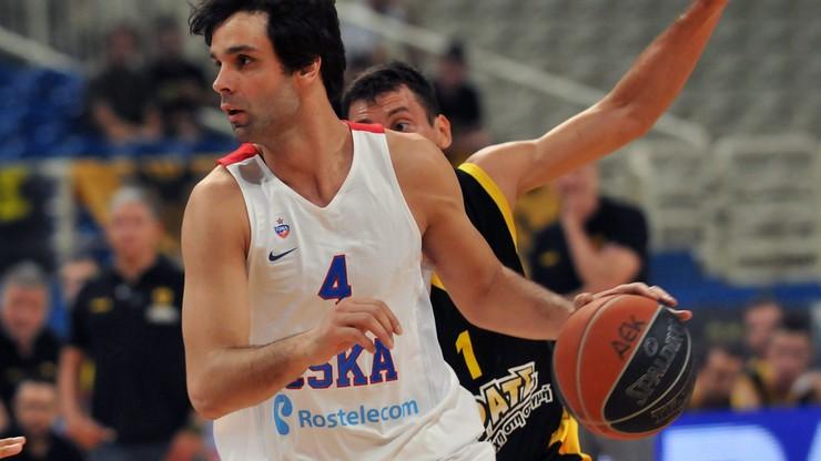 Euroliga: Olympiacos Pireus - CSKA Moskwa. Transmisja w Polsacie Sport Extra