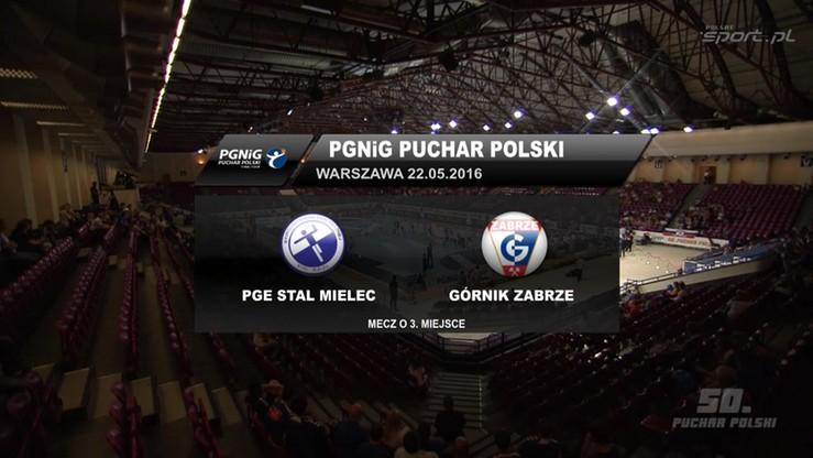 Górnik Zabrze - Stal Mielec 33:27. Skrót meczu