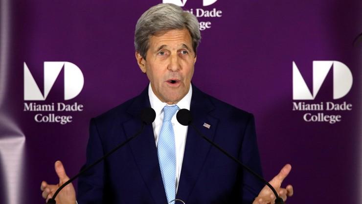 Kerry o incydencie na Bałtyku: niebezpieczne i prowokacyjne zachowanie Rosjan